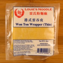 Won Ton Wrapper (Thin)